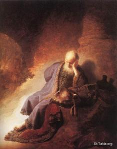 Jeremiah-Lamenting-the-Destruction-of-Jerusalem-1630-Rembrandt