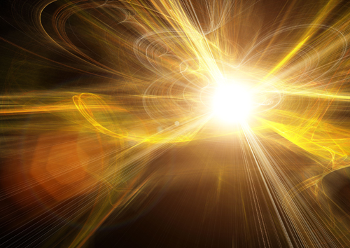 Electricity Explosion Wallpaper Ball