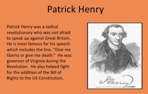 PatrickHenryFoundingFather